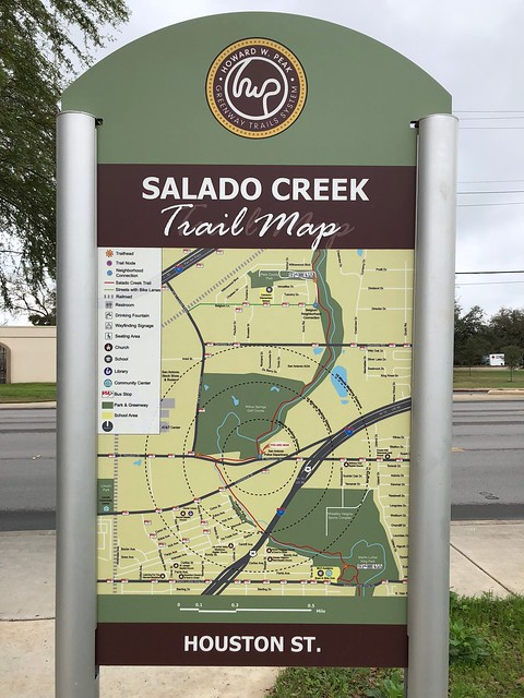 San Antonio - trail map
