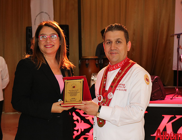 Akdeniz Profesyonel Aşçılar Birliği plaket töreni -3