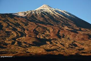 El Teide desde el sur.