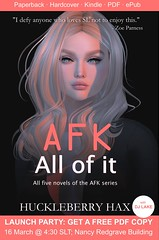 Launch party for 'AFK, All of it'