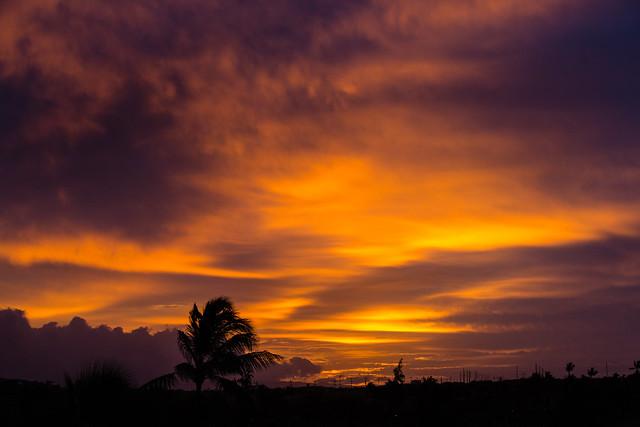 Sunrise, Oahu, Hawaii