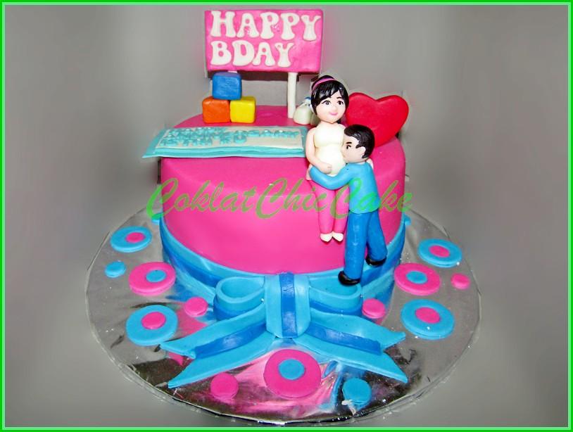 Cake Ibu Hamil 15 cm