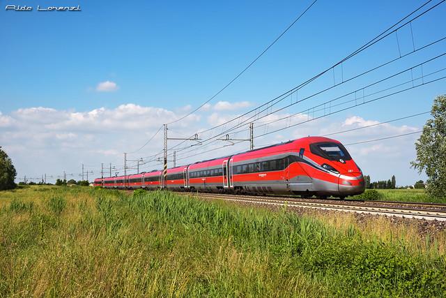 Trenitalia ETR400-35 FR1000 / Polesella (RO)