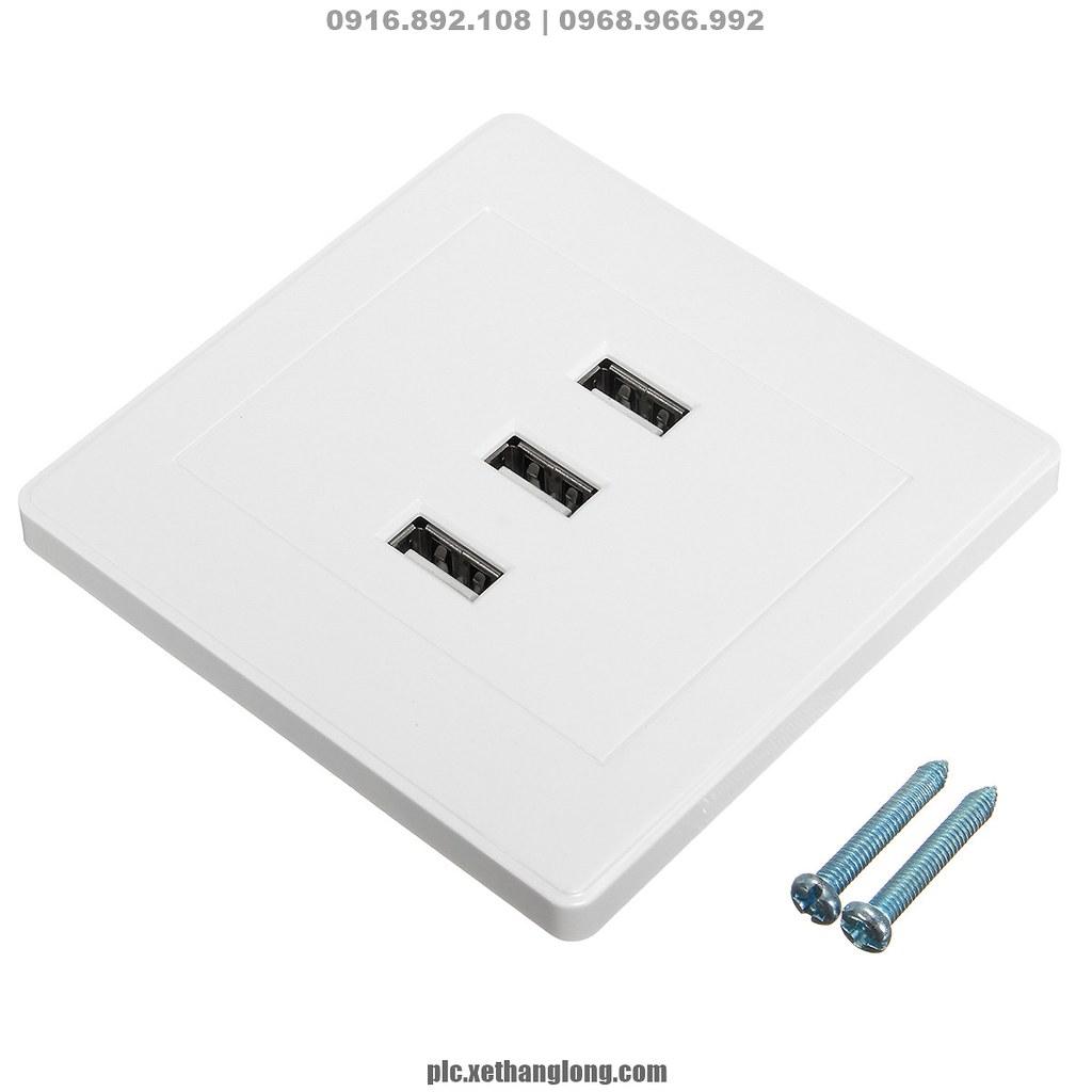 3 cổng sạc USB x 3.1A