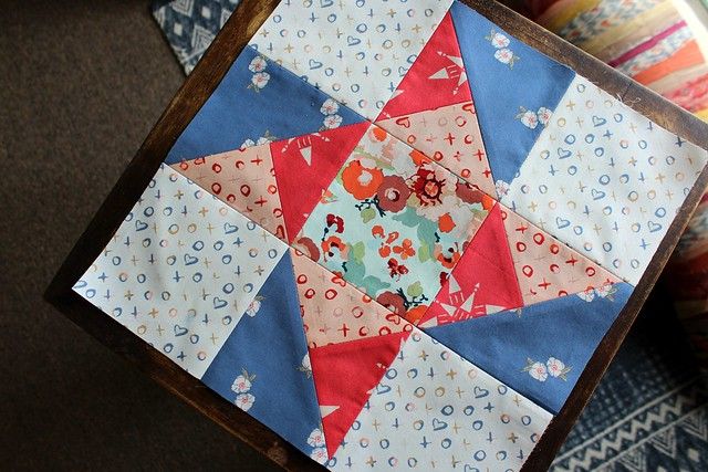 Community Sampler Ribbon Star Block