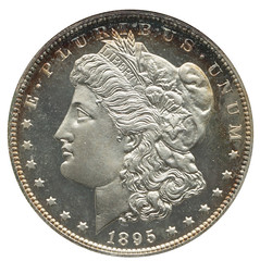 1895 NGC Proof 66 CAC (Gold) Front