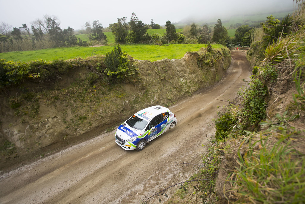 52 GAGO Diogo (prt),            , Peugeot 208 R2, action during the 2018 European Rally Championship ERC Azores rally,  from March 22 to 24, at Ponta Delgada Portugal - Photo Gregory Lenormand / DPPI