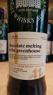 SMWS 13.51 - Chocolate melting in the greenhouse