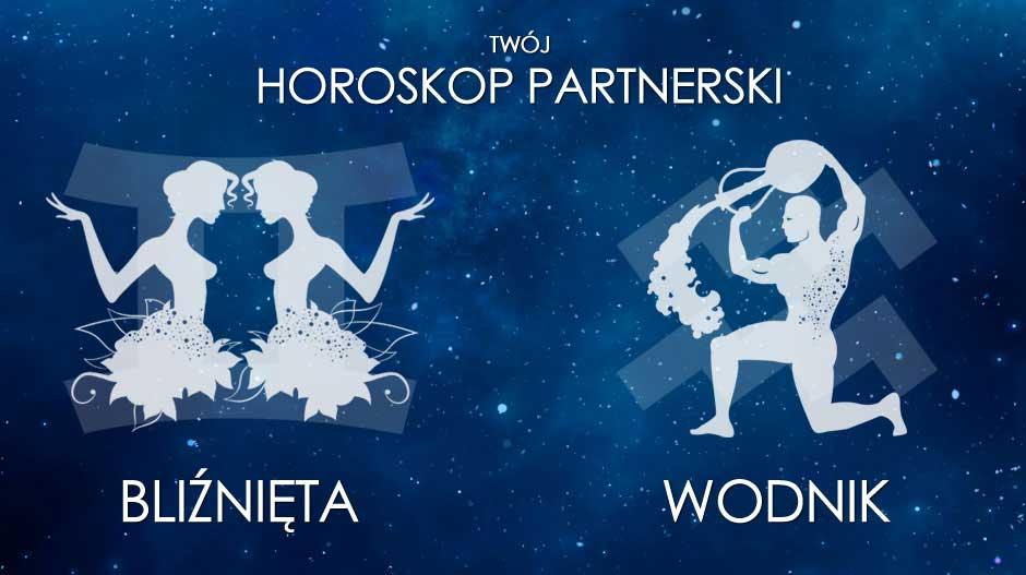 Horoskop partnerski Bliźnięta Wodnik