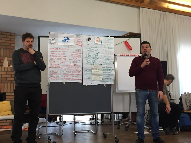 SBF en las jornadas Civil Society Exchange (Berlín, marzo de 2018)