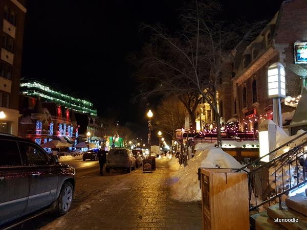 Grande Allée E Quebec