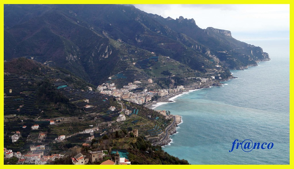 Ravello Map Amalfi Coast Italy Mapcarta