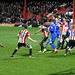 Bees 1-3 Cardiff - goalmouth scramble