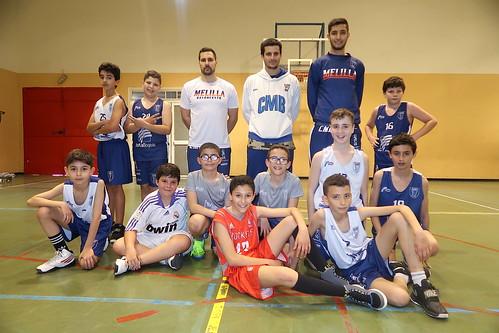 CANTERA | El Minibasket masculino se pone en forma con De Pedro