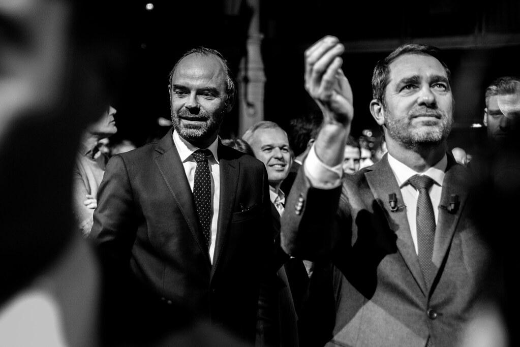 Edouard Philippe & Christophe Castaner