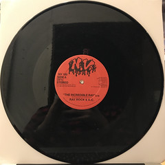 RAY ROCK & K.C.:THE INCREDIBLE RAY(RECORD SIDE-A)