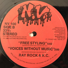 RAY ROCK & K.C.:THE INCREDIBLE RAY(LABEL SIDE-B)