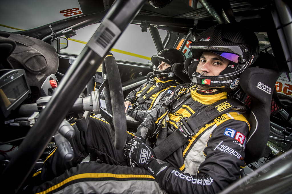 56 CORREIA MIGUEL (prt), ALVES Pedro (prt), Renault Clio R3, portrait during the 2018 European Rally Championship ERC Azores rally,  from March 22 to 24, at Ponta Delgada Portugal - Photo Gregory Lenormand / DPPI