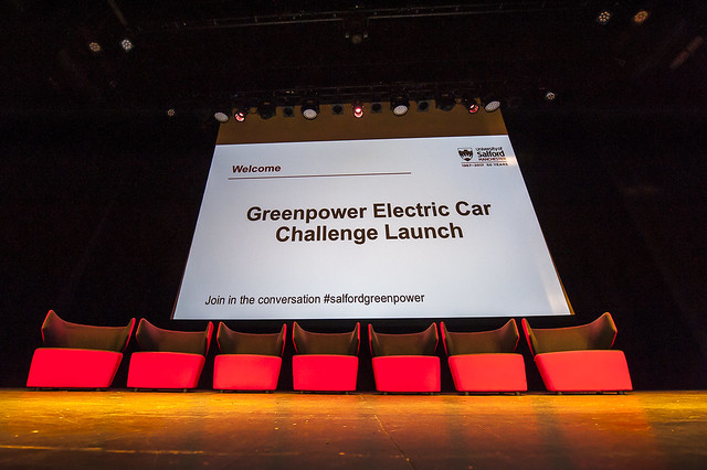 Greenpower Electric Car Launch
