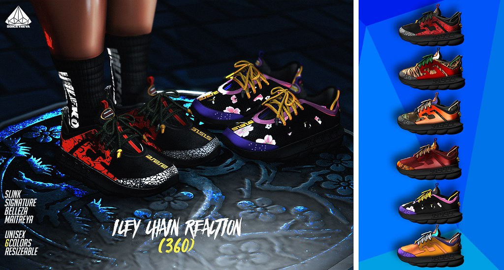 💎SOICEY4EVA💎 ⛓ICEY Chain Reactions👟 Now Available! - TeleportHub.com Live!