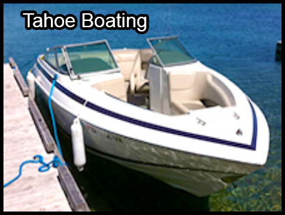 Tahoe Boating