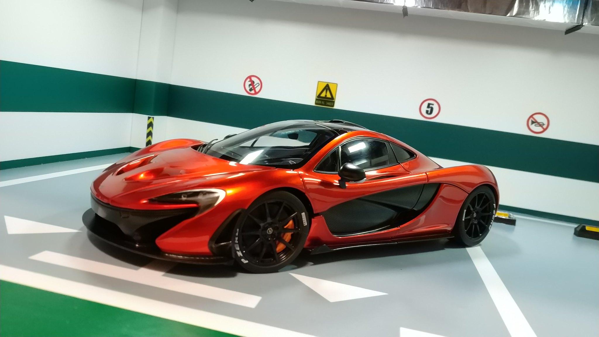 AUTOart McLaren P1 Volcano Orange 2nd release McLaren