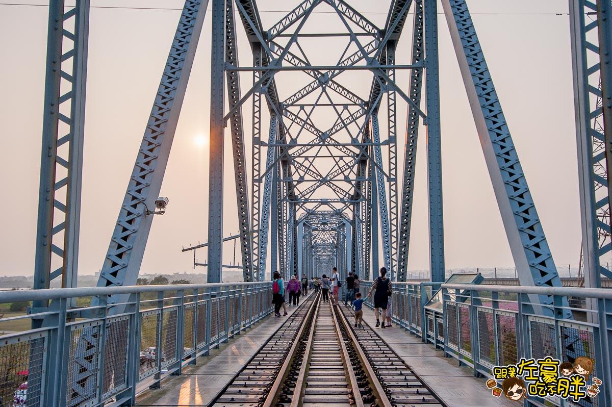 舊鐵橋(屏東端)花海-36