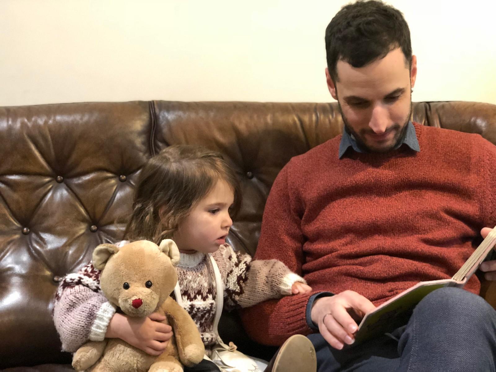 Algunos se centraron en leer cuentos...