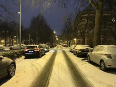 Rue longent le parc Huart Hamoir