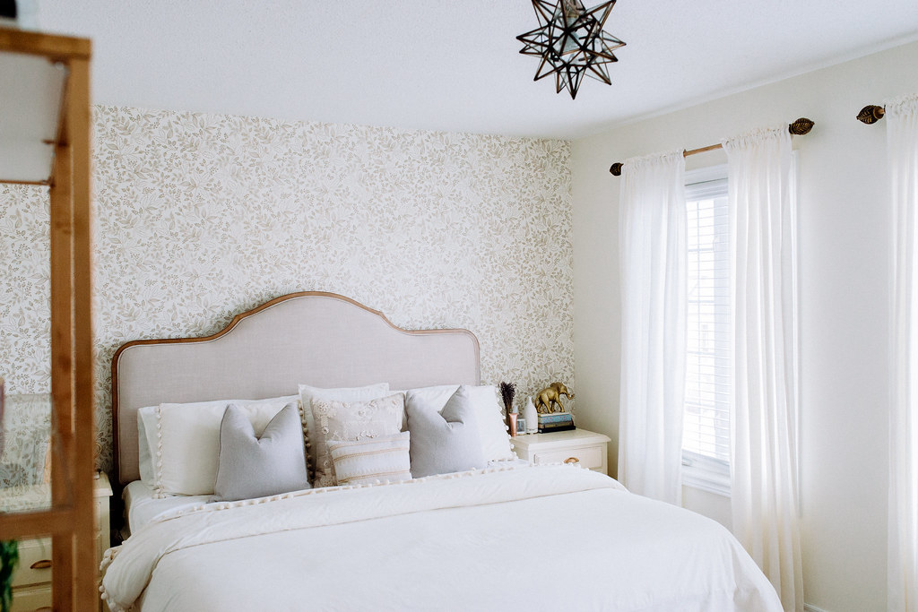 our bedroom reveal - affordable decor
