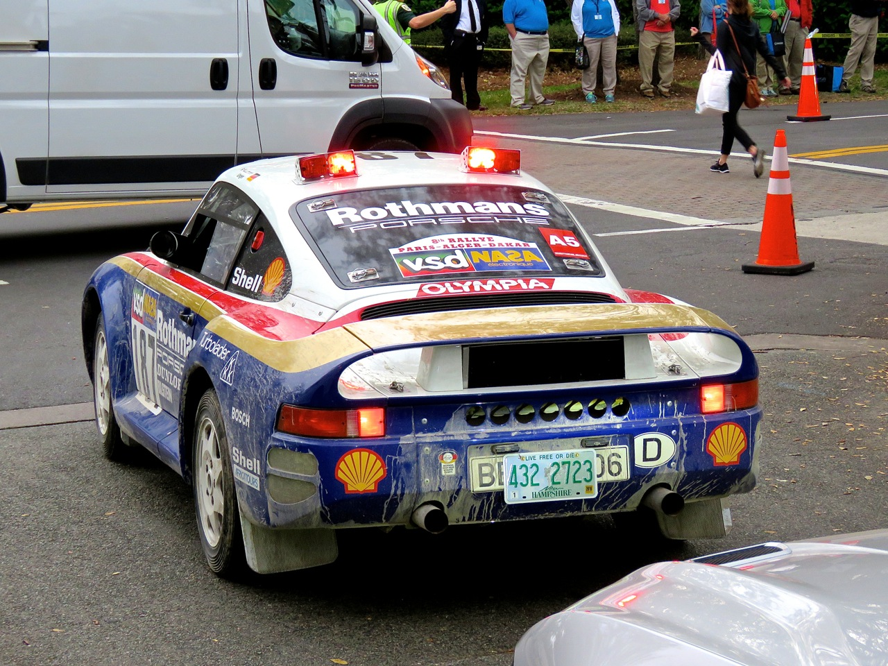 Porsche 959 Group B Rally Car Amelia Island 2