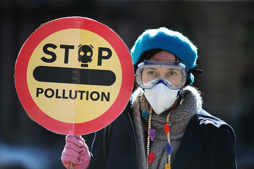Air Pollution Protest Glasgow's 'No Ambition Zone'