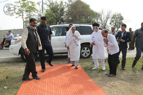 Arrival of Satguru Mata at Rohtak, Land of Sant Nirankari Satsang Bhawan