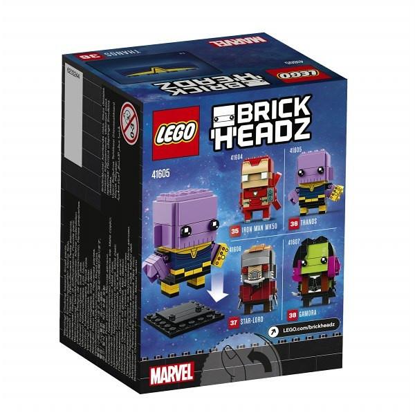 大頭人偶也來戰!! LEGO 41604~41607 BrickHeadz 系列《復仇者聯盟3:無限之戰》Avengers: Infinity War