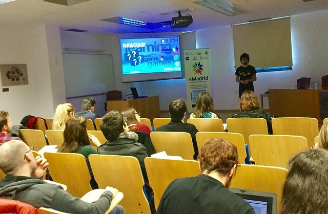 23_02_2018 Seminario eMadrid sobre «Tecnología y juegos serios para abordar la violencia en la escuela»