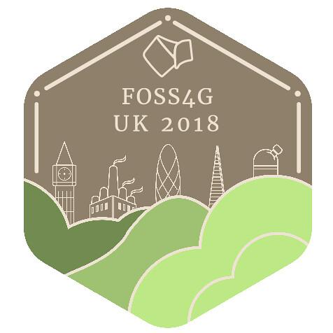 FOSS4GUK 2018 logo