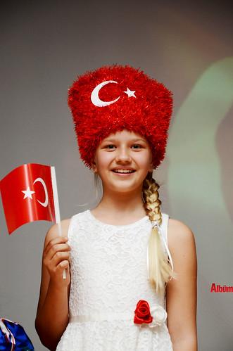 Alanya'da İstiklal Marşı'nı okumak için yarıştılar-7