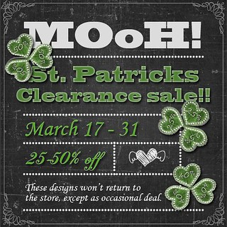 MOoH! Clearance sale st patrick 2018