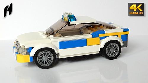 Škoda Octavia - Police Car (MOC - 4K)