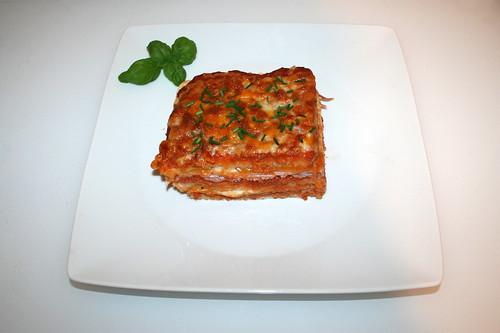 40 - Sandwich-Lasagne - Serviert / Served