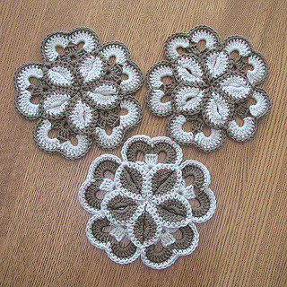 🙆♀️ 👌 💕 I'm in love with this model of flowers in crochet very charming and precious very pretty pattern