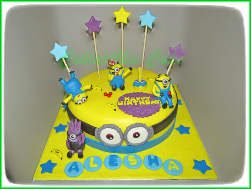 Cake Minions ALESHA 20 cm