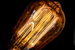 Light bulb filaments wa