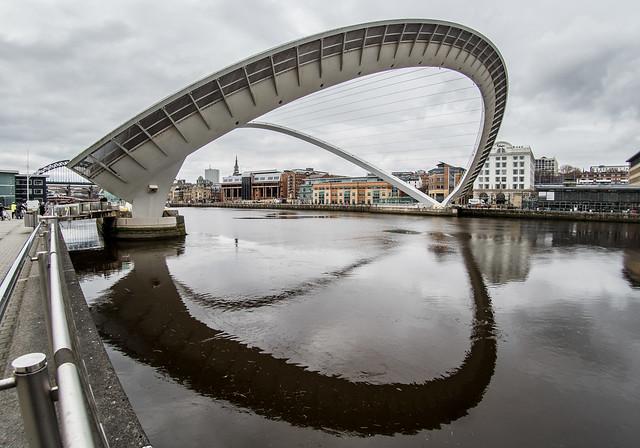 Bridges, Gateshead, Newcastle upon Tyne, North East England, UK.
