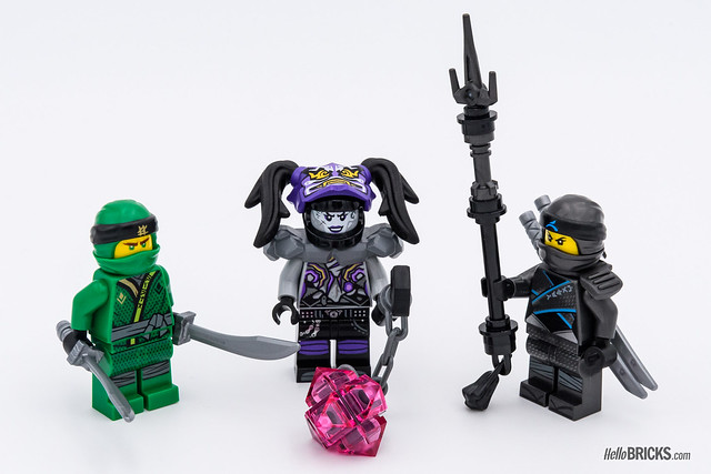 REVIEW LEGO 70641 Ninja Nightcrawler