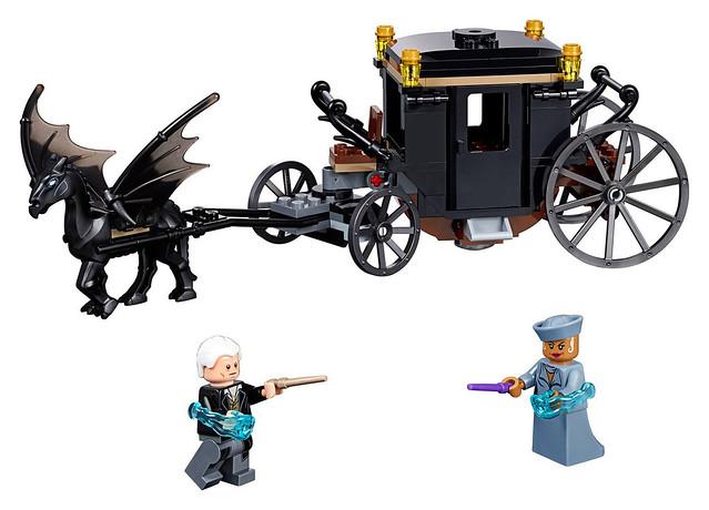 騎士墜鬼馬也太帥了吧~! LEGO《怪獸與葛林戴華德的罪行》怪獸與葛林戴華德逃脫 Fantastic Beasts' Grindelwald's Escape