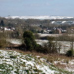 South Swindon in snow