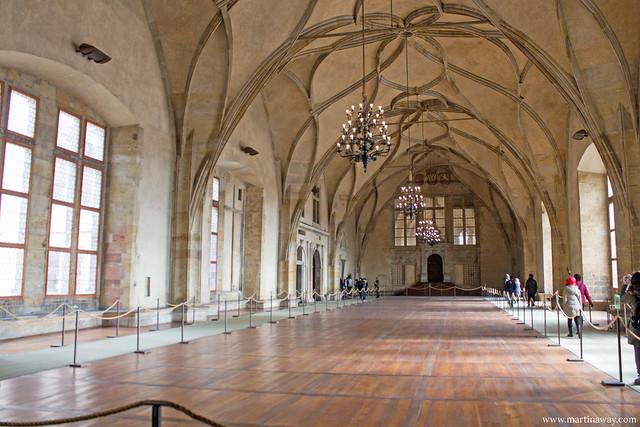 Sala del Palazzo Reale, Castello di Praga
