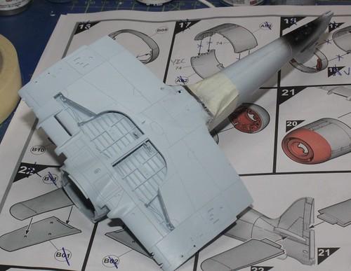 Hawker Sea Fury FB.11, Airfix 1/48 40243322804_63a002c29b