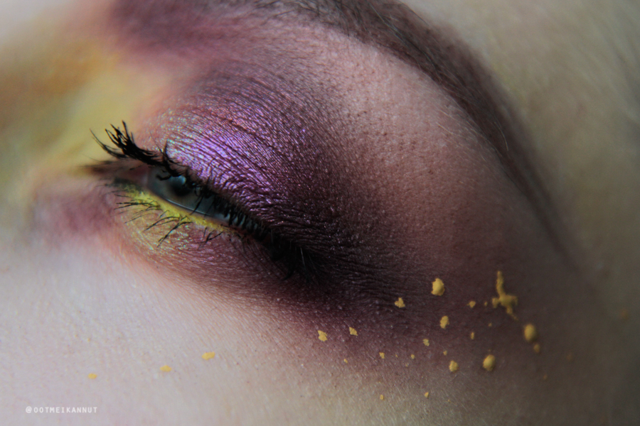 yellow makeup